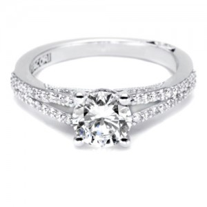 Tacori Platinum Simply Tacori Engagement Ring 3001