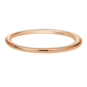 Gabriel 14 Karat Contemporary Wedding Band WB8354K4JJJ