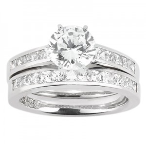 Taryn Collection Platinum Diamond Engagement Ring TQD A-0871