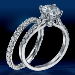 Verragio Platinum Couture Engagement Ring Couture-0359