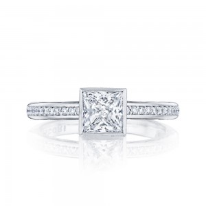 305-25PR55 Platinum Tacori Starlit Engagement Ring