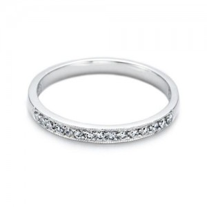 Tacori Platinum Simply Tacori Wedding Band 2521
