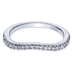 Gabriel 14 Karat Contemporary Wedding Band WB5999W44JJ