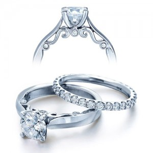 Verragio Platinum Insignia Engagement Ring INS-7021