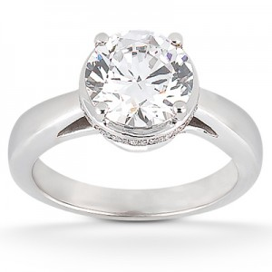 Taryn Collection 18 Karat Diamond Engagement Ring TQD 3606