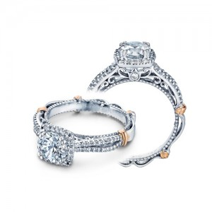 Verragio Parisian-110CU 14 Karat Engagement Ring