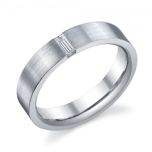 241097 Christian Bauer Platinum Diamond  Wedding Ring / Band