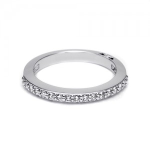 Tacori Platinum Simply Tacori Wedding Band 2630BLG12