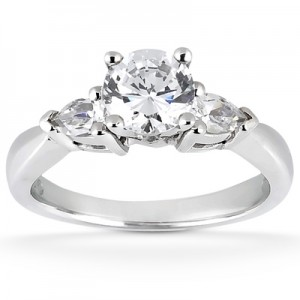Taryn Collection Platinum Diamond Engagement Ring TQD 2061