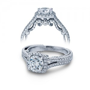 Verragio Platinum Insignia-7062CU Engagement Ring