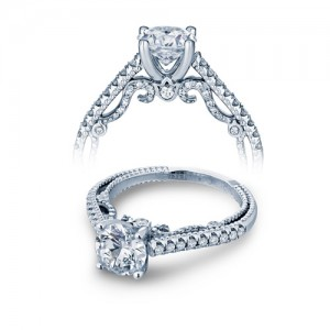 Verragio Platinum Insignia-7059MR Engagement Ring