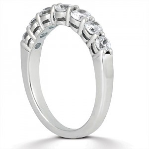 Taryn Collection Platinum Wedding Ring TQD B-4741