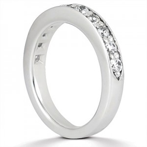 Taryn Collection Platinum Wedding Ring TQD B-6131