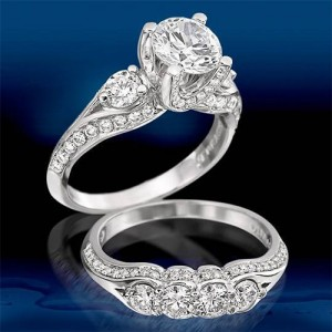 Verragio Platinum Classico Engagement Ring ENG-0282