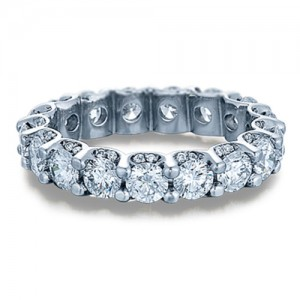 Verragio 18 Karat Eterna Wedding Band Eterna-4001 L