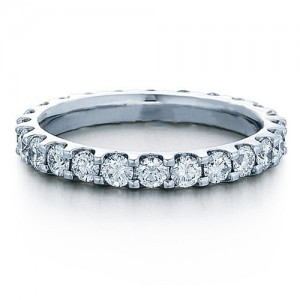 Verragio 18 Karat Eterna Wedding Band Eterna-7012W