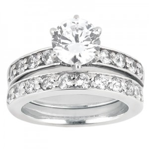 Taryn Collection 18 Karat Diamond Engagement Ring TQD A-6131