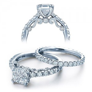 Verragio Platinum Insignia Engagement Ring INS-7001