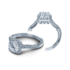 Verragio Insignia-7056 Platinum Engagement Ring