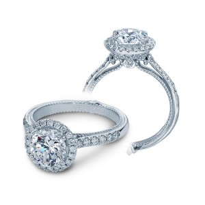 Verragio Couture-0430DR Platinum Engagement Ring