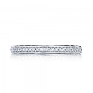 305-25ET Tacori Platinum Starlit Diamond Wedding Ring