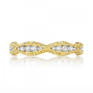 Tacori 2578BY 18 Karat Tacori Gold Diamond Wedding Ring