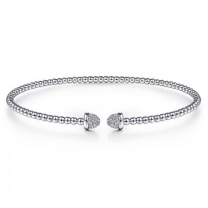 Gabriel Fashion 14 Karat Diamond Bujukan Bangle Bracelet BG4248-6W45JJ