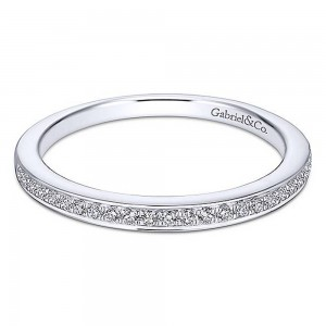 Gabriel Platinum Straight Wedding Band WB13886R4PT4JJ