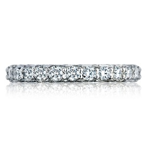 HT2614B34 Platinum Tacori RoyalT Diamond Wedding Ring