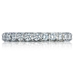 HT2614B Platinum Tacori RoyalT Diamond Wedding Ring
