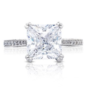 HT2627PR85 Platinum Tacori RoyalT Engagement Ring