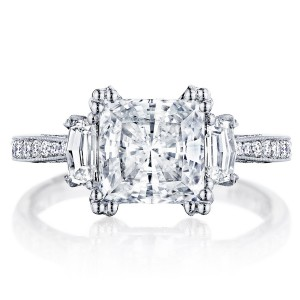 HT2655PR75 Platinum Tacori RoyalT Engagement Ring