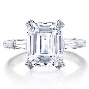 HT2657EC105X85 Platinum Tacori RoyalT Engagement Ring