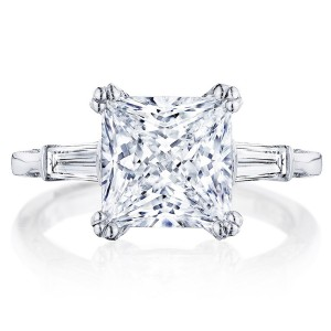 HT2657PR85 Platinum Tacori RoyalT Engagement Ring