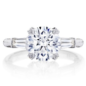 HT2657RD85 Platinum Tacori RoyalT Engagement Ring