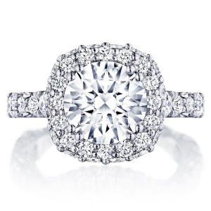 Tacori HT2653CU9 18 Karat RoyalT Engagement Ring