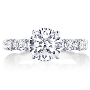 Tacori HT2654RD8 18 Karat RoyalT Engagement Ring