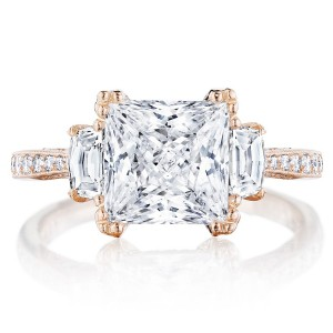 Tacori HT2655PR8PK 18 Karat RoyalT Engagement Ring