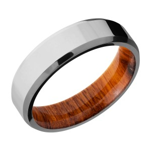 Lashbrook HWSLEEVE6B Titanium Wedding Ring or Band
