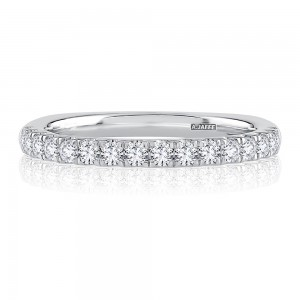 A.JAFFE Platinum Metropolitan Diamond Wedding Ring MRSEC2342
