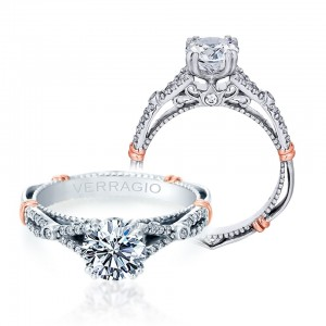 Verragio Parisian-102 Platinum Engagement Ring