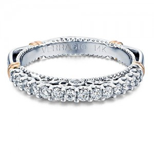 Verragio Parisian-103SW Platinum Wedding Ring / Band
