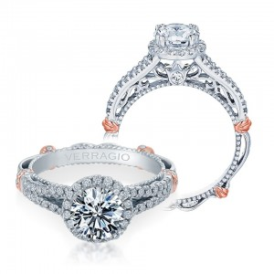Verragio Parisian-107R Platinum Engagement Ring