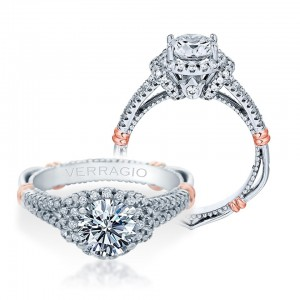 Verragio Parisian-117R Platinum Engagement Ring