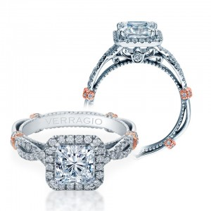Verragio Parisian-DL106P Platinum Engagement Ring