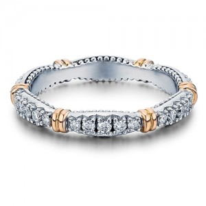 Verragio Parisian-W101 Platinum Diamond Eternity Ring / Band
