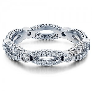 Verragio Parisian-W103R Platinum Diamond Eternity Ring / Band