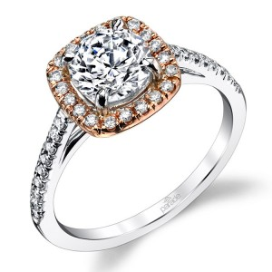 Parade New Classic R1915 Platinum Diamond Engagement Ring