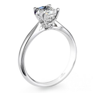 Parade New Classic R2637 14 Karat Diamond Engagement Ring