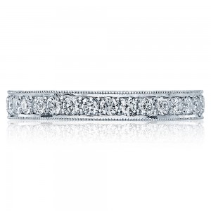HT2605B Platinum Tacori RoyalT Diamond Wedding Ring